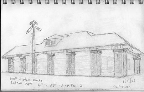 NWP Railroad Depot