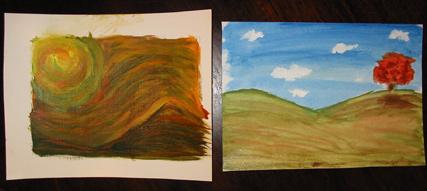 Atelier Demo Paintings