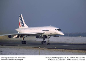 Air France Concorde taking off